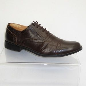 59e8adafb01 Steve Madden Shoes - Madden Brown Brogue Captoe Oxfords Size 9.5M  091